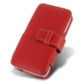 Melkco Leather Case Book Red for iPhone 4, 4S (APIPO4LCBT1RD)