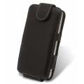 Melkco Leather Case Flip Down Black Ver.2 for iPhone 4 (APIPO4LCFT2BK)