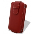 Melkco Leather Case Flip Down Red Ver.2 for iPhone 4 (APIPO4LCFT2RD)
