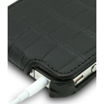 Melkco Leather Case Jacka Crocodile Black for iPhone 4, 4S (APIPO4LCJT1BKCR)