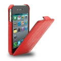 Melkco Leather Case Jacka Crocodile Red for iPhone 4, 4S (APIPO4LCJT1RDCR)