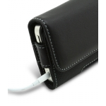 Melkco Leather Case Premium Pouch Black Ver.2 for iPhone 4 (APIPO4LCPB2BK)