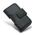 Melkco Leather Case Universal Horizontal Pouch Black for iPhone 4, 4S (APIPO4LCPT1BK)