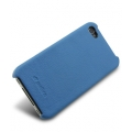 Melkco Leather Snap Cover Blue LC for iPhone 4, 4S (APIPO4LOLT1BELC)