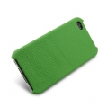 Melkco Leather Snap Cover Green LC for iPhone 4, 4S (APIPO4LOLT1GNLC)