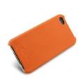 Melkco Leather Snap Cover Orange LC for iPhone 4, 4S (APIPO4LOLT1OELC)