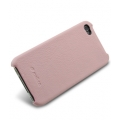 Melkco Leather Snap Cover Pink LC for iPhone 4 (APIPO4LOLT1PKLC)