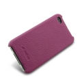 Melkco Leather Snap Cover Purple LC for iPhone 4, 4S (APIPO4LOLT1PELC)