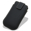 Melkco Leather Case Oto Holder Black LC Ver.1 for iPhone 4, 4S (APIPO4LCOT1BKLC)