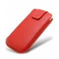 Melkco Leather Case Oto Holder Red LC Ver.1 for iPhone 4, 4S (APIPO4LCOT1RDLC)