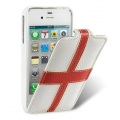 Melkco Leather Case Craft Edition Jacka Type The Nations England for iPhone 4, 4S (APIP4SLCJCEEAND)