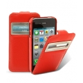 Melkco Leather Case Jacka ID Type for iPhone 4, Red LC (APIPO4LCJD1RDLC)