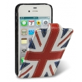 Melkco Leather Case Craft Edition Jacka Type The Nations Britain for iPhone 4, 4S (APIP4SLCJCEBRIN)