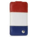 Melkco Leather Case Jacka Craft Edition Rainbow 3 for iPhone 4, 4S (APIP4SLCJCERDWEBELC)