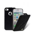 Melkco Leather Case Jacka SE Vintage Black/Crocodile for iPhone 4, 4S (APIP4SLCJS1BKITBKCR)