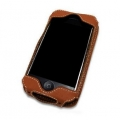 Melkco Leather Case Sleeve Brown for iPhone 4, 4S (APIPO4LCST1BN)