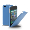 Melkco Leather Case Jacka Blue LC for iPhone 4, 4S (APIPO4LCJT1BELC)