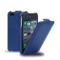 Melkco Leather Case Jacka Dark Blue LC for iPhone 4, 4S (APIPO4LCJT1DBLC)