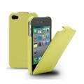 Melkco Leather Case Jacka Yellow LC for iPhone 4, 4S (APIPO4LCJT1YWLC)