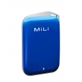 MiLi Power Crystal 2000 mAh, Blue for iPods&iPhones (HB-A10-BL)