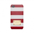 Michael Kors Case for iPhone 5, 5S Red (32S3GELL10RED)