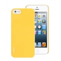 MobCStyle Color Pop for iPhone 5, 5S - Gloss Vanilla Yellow