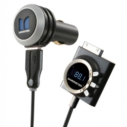 Monster iCarPlay Wireless 250 FM Transmitter with AutoScan for iPod/iPhone