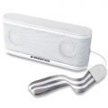 Monster iClarity HD Micro Bluetooth Speaker for iPad & iPhone, White (MNS-133265-00)