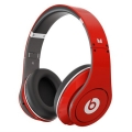 Beats by Dr. Dre Studio Limited Edition HD Powered Isolation Headphones, Red (BTS-900-00030-03)