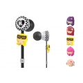 Monster Harajuku Lovers Wicked Style In-Ear Featuring Interchangeable Faces (MNS-128691)