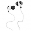 Monster® MobileTalk™ In-Ear Headphones Noise Isolating - Frost White (133300-00)