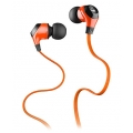 Monster® MobileTalk™ In-Ear Headphones Noise Isolating - Juice Orange (133302-00)