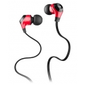 Monster® MobileTalk™ In-Ear Headphones Noise Isolating - Cherry Red (133303-00)