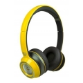 Monster NCredible NTune Solid On-Ear Headphones - Solid Yellow (128518-00)