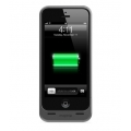 Mophie Juice Pack Helium Metallic Black 1500 mAh for iPhone 5, 5S (2375-JPH-IP5-MBLK-I)