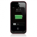 Mophie Juice Pack PLUS Magenta 2000mAh for iPhone 4, 4S
