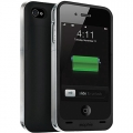 Mophie Juice Pack Air Case Black 1500 mAh for iPhone 4, 4S (MOP-1145JPAXP4)