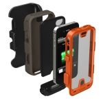 Mophie Juice Pack Pro 2500 mAh for iPhone 4, 4S - Orange (MOP-2175)