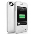 Mophie Juice Pack Air Case White 1500 mAh for iPhone 4, 4S (MOP-1146JPAXP4)