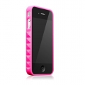 Glam Rocka Kiss Hot Pink for iPhone 4 (AP13-023PNK)
