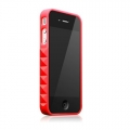 Glam Rocka Bowie Red for iPhone 4 (AP13-023RED)