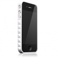 Glam Rocka Stardust White for iPhone 4 (AP13-023WHT)