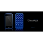 Handwoven Series Marine Blue for iPhone 4 (AP13-015BLU)