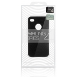 Swirling Series Silicone Case Black for iPhone 4 (AP13-001BLK)
