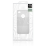 Swirling Series Silicone Case White for iPhone 4 (AP13-001WHT)