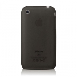 More Ultra Slim Series Silicone Case Black for iPhone 3G/3GS (AP05-005BLK)