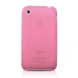 Ultra Slim Series Silicone Case Pink for iPhone 3G/3GS (AP05-005PNK)