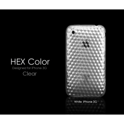 More HEX Color Collection Clear for iPhone 3G/3GS (AP05-007CLR)