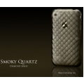More Diamond Series Smoky Quartz Black for iPhone 3G/3GS (AP05-017BLK)