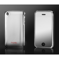 Auracolor Metallic Series Mercury Silver for iPhone 3G/3GS (AP05-031SIL)